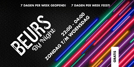 Woensdag - Beurs by Night tickets