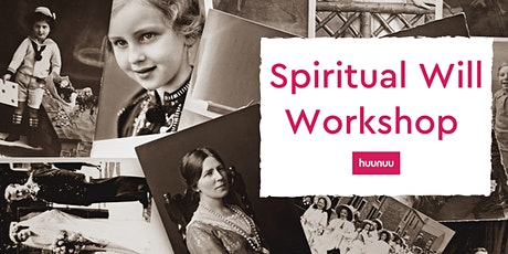 Moments of Me: Spiritual Will Workshop tickets