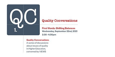 Quality Conversations: Dilemmas in Contemporary Creative Arts Education tickets