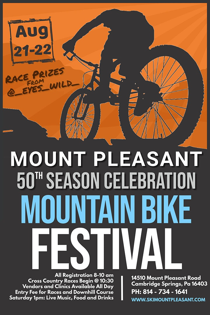 Mountain Bike Festival and 50th Anniversary Celebration image