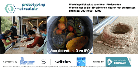 Workshop BioFabLab  bio-mallen en knotplex // voor docenten IO en IPO (3) tickets
