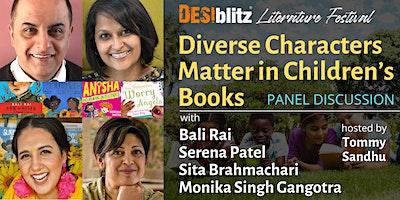 DESIblitz लिटरेचर फेस्टिव्हल मुलांच्या पुस्तकांमध्ये विविध वर्ण महत्त्वाचे