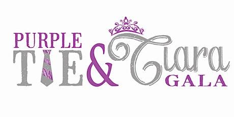 Purple Tie & Tiara Gala tickets