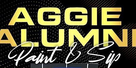 AGGIE ALUMNI PAINT & SIP GHOE MIXER tickets