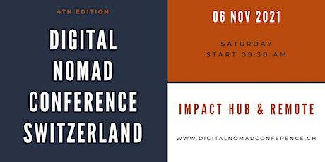 Digital Nomad Conference 2021 - EN billets