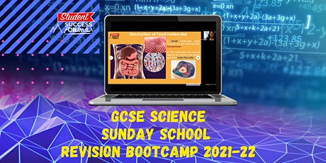 GCSE Science Sunday School - Revision Bootcamp tickets