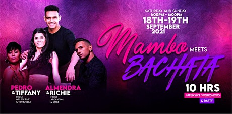 POSTPONED TO A FUTURE DATE - Mambo Meets Bachata Workshops & Party tickets