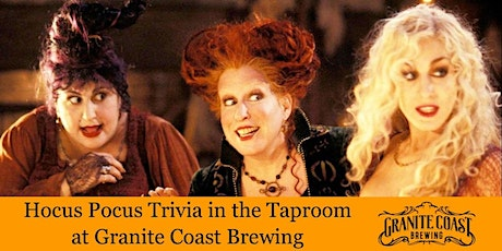 Hocus Pocus Trivia in the Taproom tickets