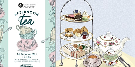 Afternoon Tea at the Birmingham Assay Office tickets