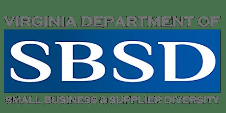 Webinar: Time to ScaleUP  - Virginia's SWaM Certification Program tickets