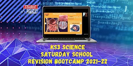 KS3 Science Saturday School - Revision Bootcamp tickets