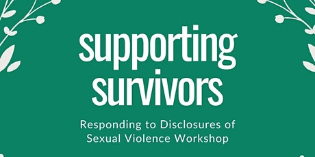 Supporting Survivors tickets