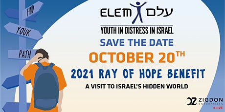 2021 ELEM's Ray Of Hope Benefit tickets