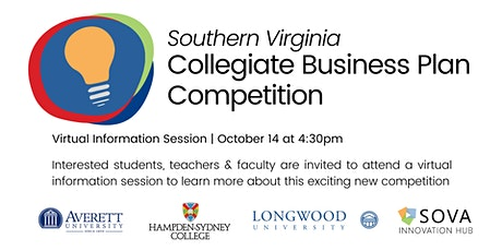 SOVA Collegiate Business Plan Competition Info Session tickets