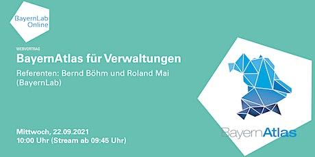 BayernAtlas für Verwaltungen Tickets
