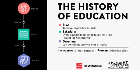 The History of Education tickets