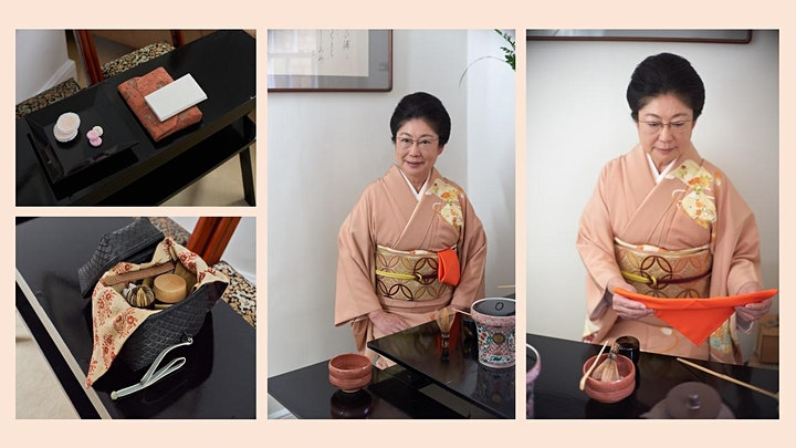 """Sado "" ( Japanese Tea Ceremony ) online  Beginners Course with Yuko Boff image"