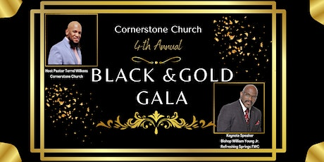 4th Annual Black and Gold Gala tickets
