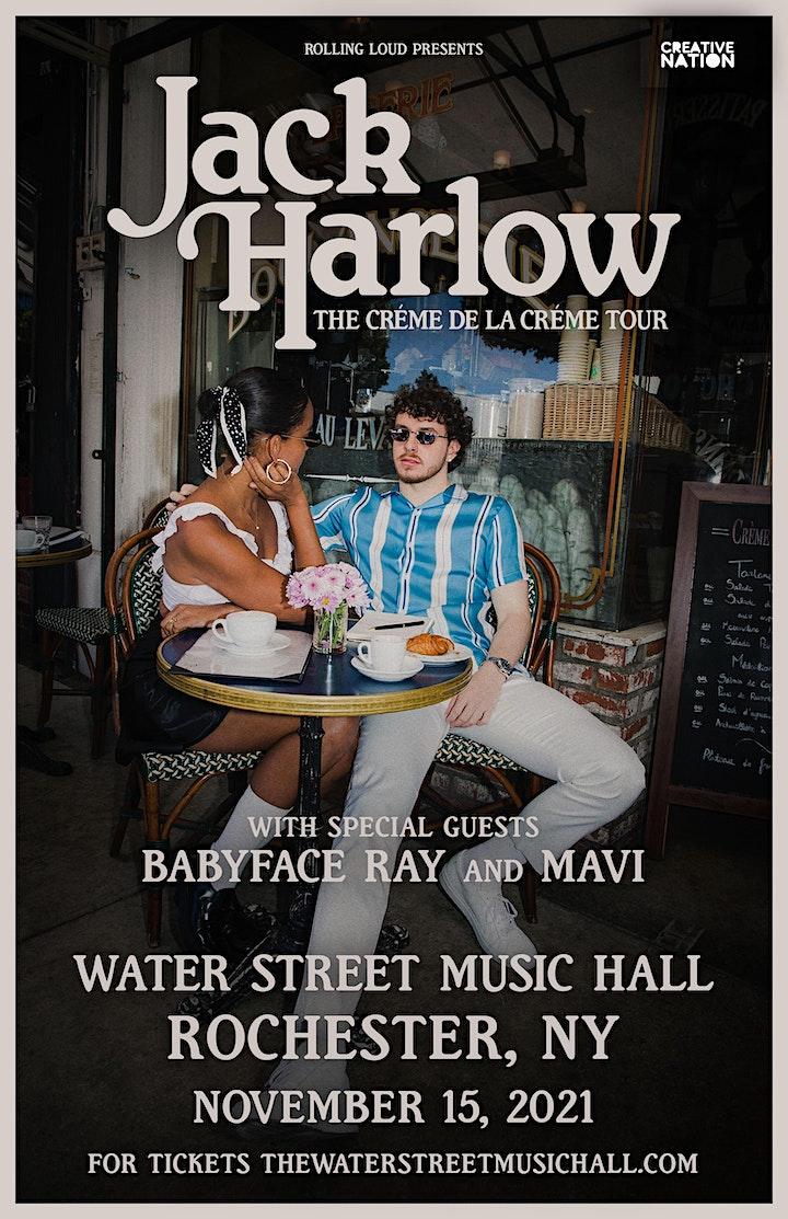 JACK HARLOW - Crème de la Crème Tour image