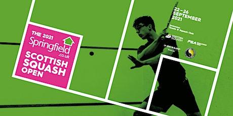 2021 Springfield Scottish Squash Open tickets