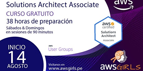 Get AWS Certified: Solutions Architect Challenge - AWS Girls Peru tickets