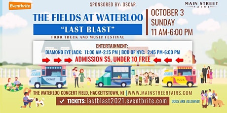 'Last Blast' Food Truck and Music Festival tickets