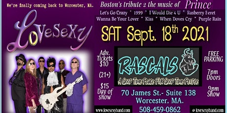 LOVESEXY - Boston's Tribute 2 the Music Of PRINCE tickets