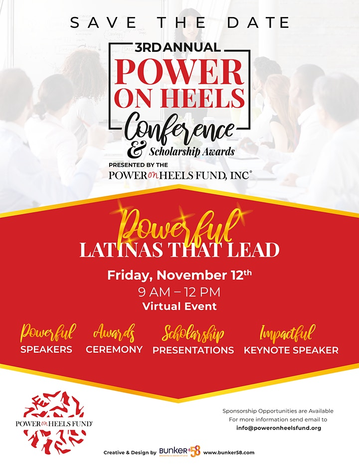 Power On Heels Fund, Inc  - 3rd Annual Conference & Scholarship Awards image