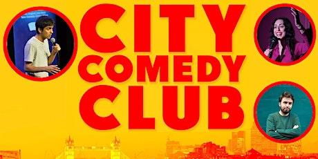 CITY COMEDY CLUB: 18 SEPTEMBER tickets