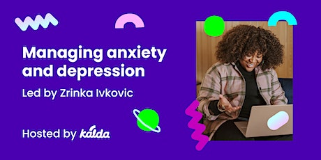 Managing anxiety and depression - LGBTQIA+ 6-week mental health course tickets
