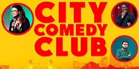 CITY COMEDY CLUB: 23 SEPTEMBER tickets