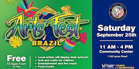 Coconut Creek Artsfest 2021 tickets