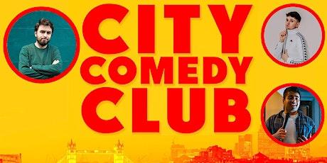 CITY COMEDY CLUB: 25 SEPTEMBER tickets