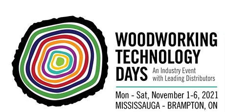 Woodworking Technology Days - 2021 tickets