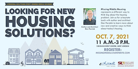 Missing Middle Housing: A Regional Solutions Event tickets