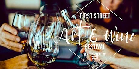 First Street Art & Wine Festival Tasting Class tickets