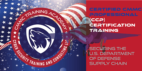 (Middle East) Certified CMMC Professional (CCP) Certification Course tickets