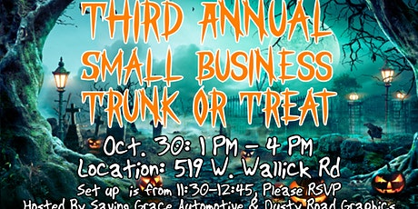 3rd Annual Small Business Trunk or Treat tickets