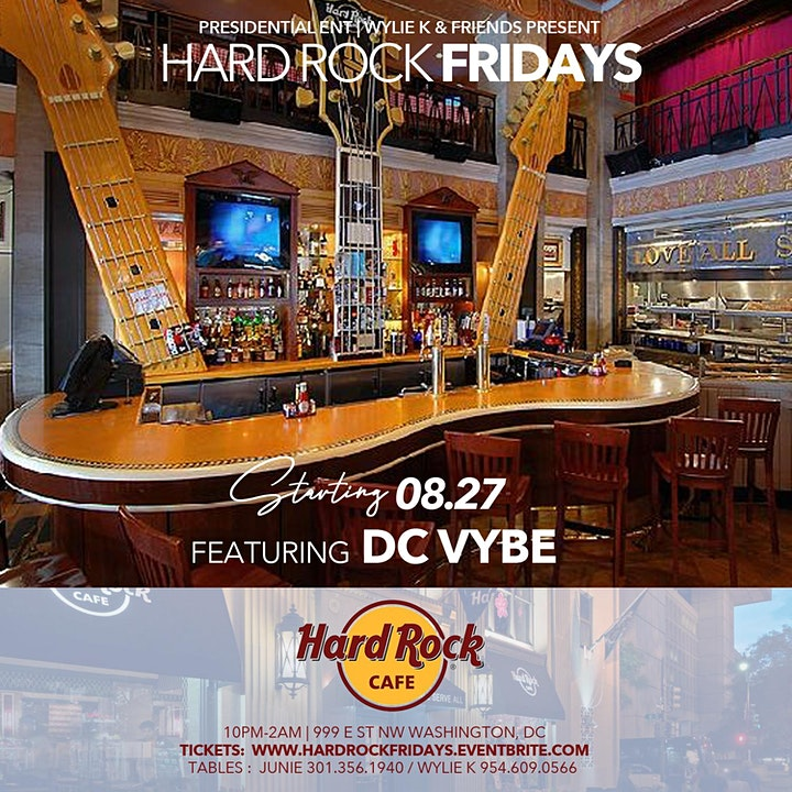 Hard Rock Fridays feat. DC VYBE image