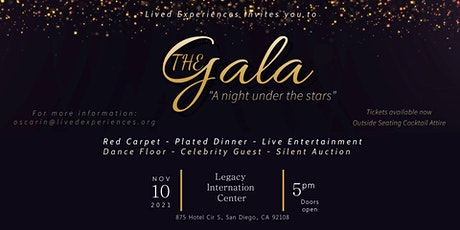 """The Gala  2021 """"A night under the stars"""" tickets"""