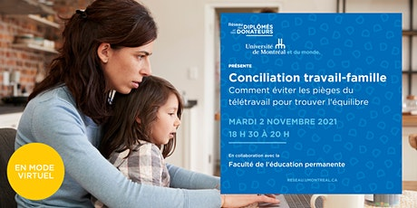 Conciliation travail-famille billets