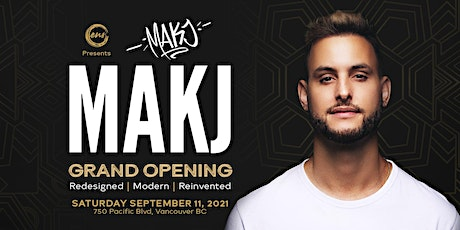 ENSO GRAND OPENING with MAKJ tickets