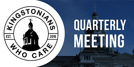 Q3 '21 Quarterly Meeting - Kingstonians Who Care tickets