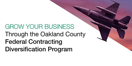 Introduction to Oakland County Federal Contracting Resources tickets