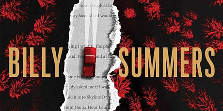 """Mysteries to Die For Book Club """"Billy Summers"""" by Stephen King tickets"""