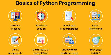 Basics of Python Programming tickets