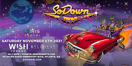 SoDown | Iris Presents @ Wish Lounge | Saturday, November 6th tickets