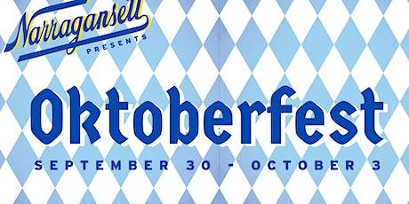 Narragansett Beer Presents: Oktoberfest tickets