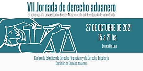 VII JORNADA DE DERECHO ADUANERO boletos