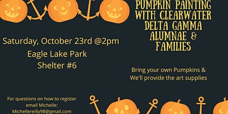 Pumpkin Painting With Delta Gamma Clearwater Alumnae tickets